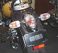 Borrar lente de luz de Cola Repuesto BMW R1200C R1200CL 'E' Marcado