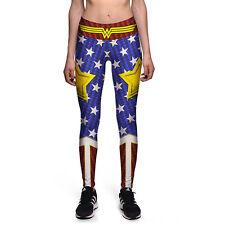 WW Fitness, running, yoga wonderwoman tights, fashion tights, local stock