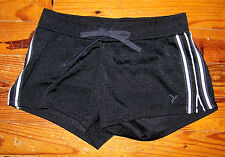 Women's Active Black & White Athletic Mesh Lax Shorts Size XS