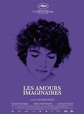 Affiche 120x160cm LES AMOURS IMAGINAIRES (2010) Xavier Dolan - Louis Garrel TBE