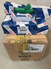 8 Authentic Genuine BOSCH 0280155968 42lb Green Giant Fuel Injectors NEW in Box