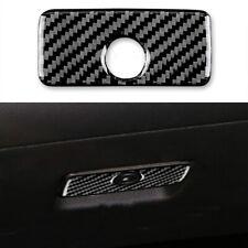 For Chevrolet Camaro 2010-15 Glove Box Handle Panel Carbon Fiber Sticker Trim