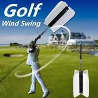 Golf Wind Swing Power Fan Resistance Practice Train Aid Grip Trainer Guide Kit