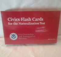 Civics Flash Cards For The Naturalization Test - English Version -2012