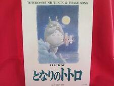 My Neighbor Totoro Soundtrack Electone Sheet Music Book