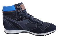 Sneakers Diadora scarpa casual pelle Trident NYL Sport blu uomo 159225
