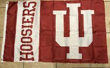 New listing Indiana University Hoosiers 3x5 Feet Outdoor Flag w/Grommets Banner Iu