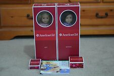 """Retired American Girl Best Friends Kit & Ruthie 18"""" Plus Accessories & Books !"""