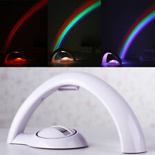 Projector Lamp Night Light LED Colorful Rainbow For Baby Kids Sleep Bedroom NEW