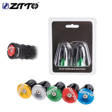 ZTTO MTB Road Bike Handlebar End Plugs Handlebar Caps Aluminum Handle Bar End