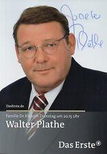Autogramm - Walter Plathe (Familie Dr. Kleist)