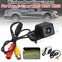 Caméra de Recul Vision Arrière CCD pour Mercedes Benz C-Class W203 W211 CLS W219