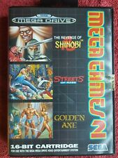 MEGA GAMES 2 GOLDEN AXE,STREETS OF RAGE,SHINOBI SEGA MEGA DRIVE NEW STILL SEALED
