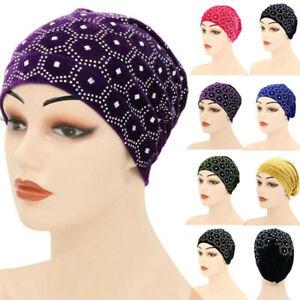 Women Hair Loss Beanies Head Wraps Scarf Cancer Chemo Cap Muslim Turban Hats Hat