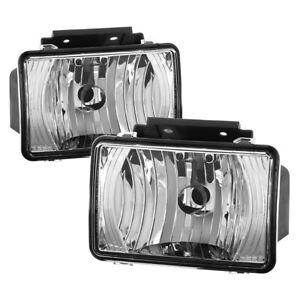2004-2012 Chevy Colorado GMC Canyon Replacement Bumper Fog Lights Pair Set