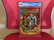 Tales to Astonish #93 CGC 9.0 Silver Surfer Hulk Fantastic Four Sub-Mariner