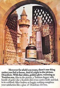 "Original Vintage 1970s - ""Drambuie"" - The Field Magazine February 1975"
