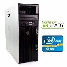 HP Z620 VR Ready Gaming Computer 2.9GHz 16 Cores GTX1060 64GB RAM 512GB SSD