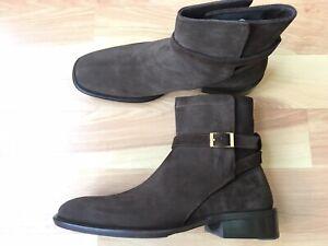 GUCCI Mens Tom Ford Era Brown Suede Jodhpur Boot Size 9.5 UK (10.5 US) $1200*