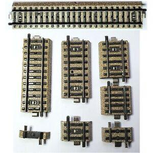 Märklin H0 Gleise M-Gleis 5100-5210 verschieden gebraucht guter Zustand