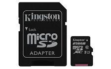Memoria Kingston Sdcs/256gb 256gb Microsdxc Canvas Select Adap