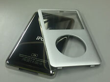 New iPod 6th 6.5 7th Gen Classic Silver Front Faceplate 2TB Back Cover Housing