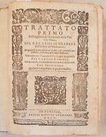OPERE DEL R. P. F. LUIGI DI GRANATA 1605 ILLUSTRATA LUIS DE LA GRANADA BIBBIA