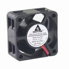 5pcs 5V Ball Bearing 40mm 40X20MM DC 0.12A 2PIN Brushless Cooling Cooler Fan