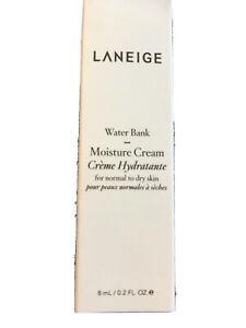 Laneige Water Bank Moisture Cream 8 ml/0.2 oz Travel Size BNIB Free Shipping!