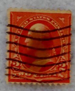 GENUINE  2-Cent Red George Washington U.S. POSTAGE STAMP