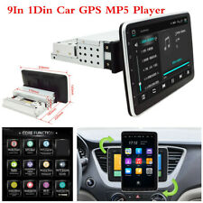 Pantalla Giratoria 9In 1Din Android 9.0 Coche Bluetooth GPS Radio estéreo Reproductor de MP5