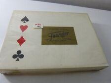 coffret FOURNIER , 2 jeux de cartes ,philatélie  (cp10)-