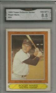 Roger Maris Topps Collectors' Series #24 8.5!