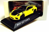1:43 MINICHAMPS 2018 PORSCHE 911 991 II GT3 RS WP yellow 500 pcs. DEALER PROMO