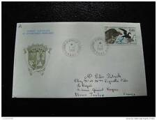 TAAF carta 1/1/88 - sello stamp - yvert y tellier nº132 (cy6)