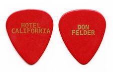 Eagles Don Felder Hotel California Red Guitar Pick - 2008 Solo Tour