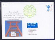 49721) LH FISA SF Frankfurt - Graz Österreich 12.5.2011, cover GB/UK SPA Essen
