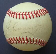 JOHNNY MIZE  Signed   MacPhail  Baseball  PSA/DNA Autograph Q27693