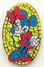 Disney Auctions Mosaic Minnie Mouse Le 100 Pin