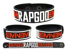 EMINEM Rubber Bracelet Wristband The Marshall Mathers LP 2 Rapgod