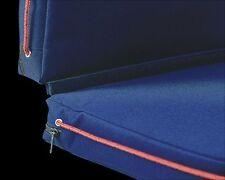 Double Navy boating seat pad/boat cushion- Floating safety buoyant cushion