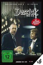 5 DVDs * DERRICK - COLLECTOR'S  BOX 2 | HORST TAPPERT - FRITZ WEPPER  # NEU OVP
