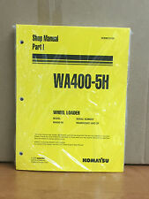 Komatsu WA400-5H Wheel Loader Shop Service Repair Manual