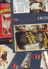 lot 12 documents- jaquettes de film / Annie Girardot -