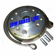 "Go Kart 4-1/2"" Brake Drum, Band and Hub Kit, Mini Bike Brake, 1 inch Live Axle"