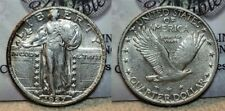 1927 P Standing Liberty Quarter 25c AU