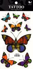 Temporary Tattoo Butterflies Body Art Removable HM655