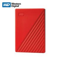 WD 4TB Neu My Passport External Hard Drive Externe Festplatte USB 3.2 Gen 1 Rot