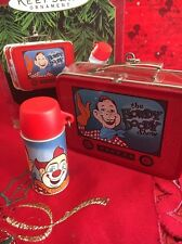 Christmas  Hallmark Keepsake Howdy Doody Lunch Box Set Of 2 Ornaments New In Box