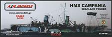 AJM Models 1/700 HMS Campania